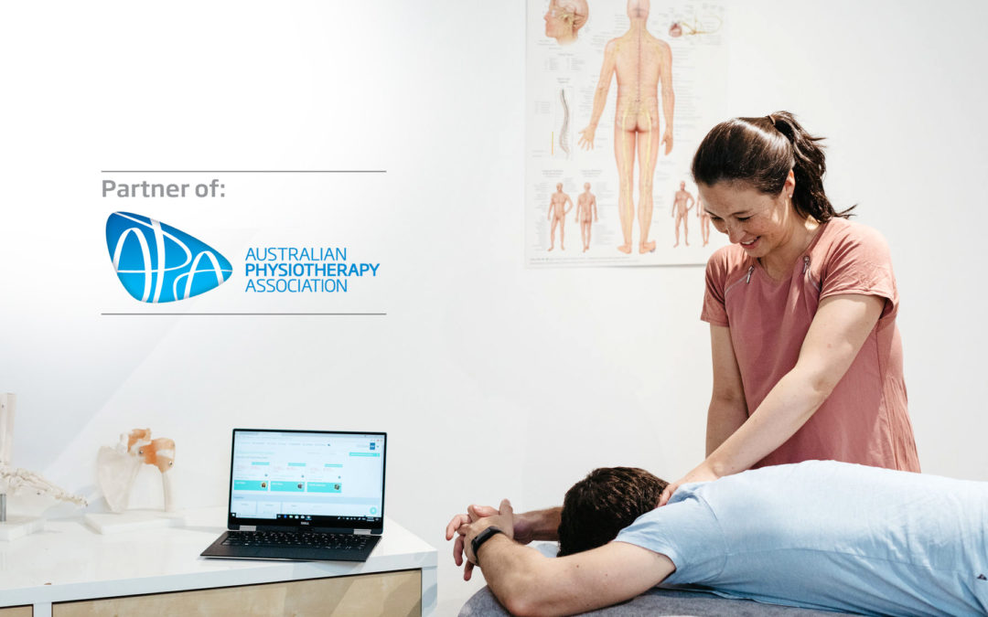 Announcing our new partnership with the Australian Physiotherapy Association